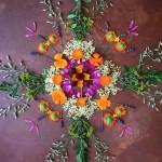 bloemen mandala