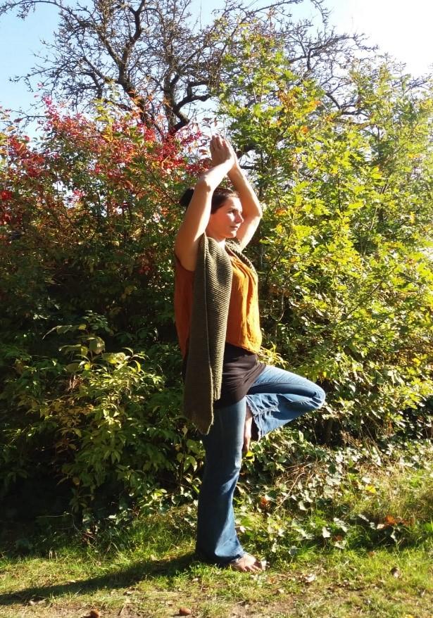 yoga staand